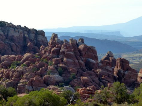 Fiery Furnace in Arches National Park