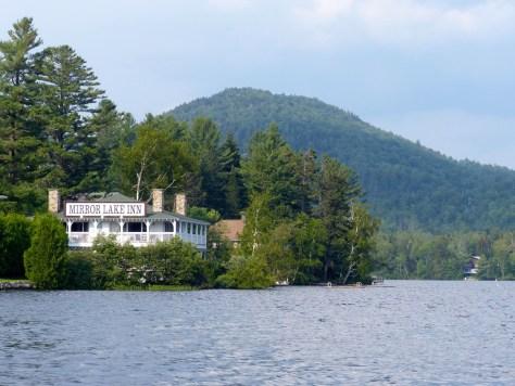 Mirror Lake from High Peaks Resort