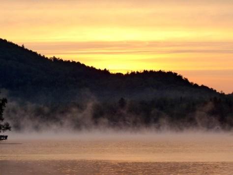 Sunrise over Mirror Lake