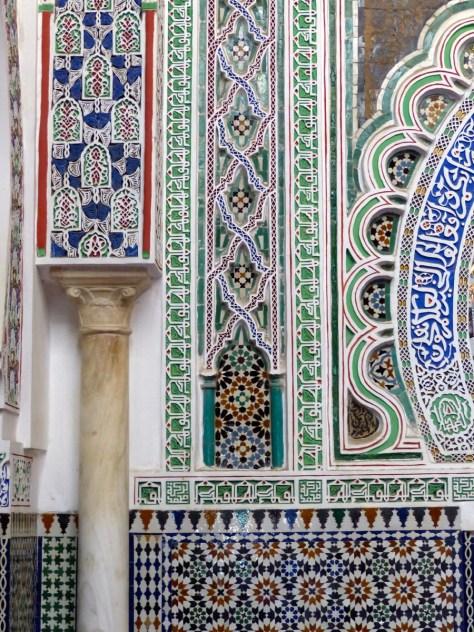 Fes - Medina Mosaic