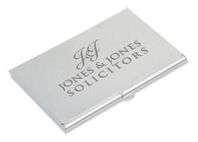 Engraving - Business Card Holder