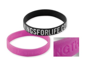 Silicone Wristbands - Embossed-Debossed