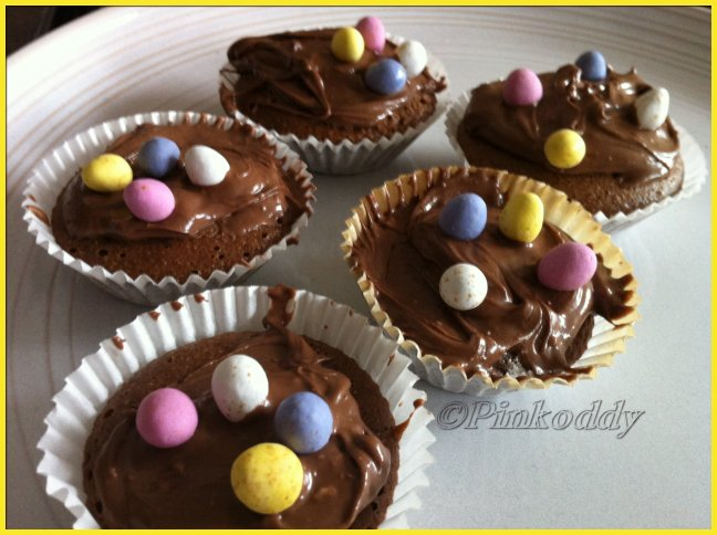 Chocolate Easter Egg Cakes