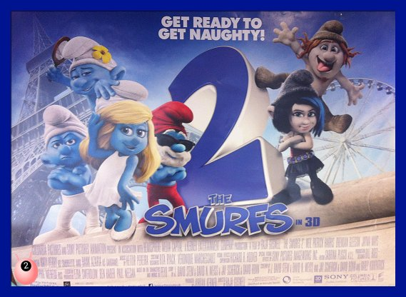 Smurf 2: It's all about the people you take on your journey