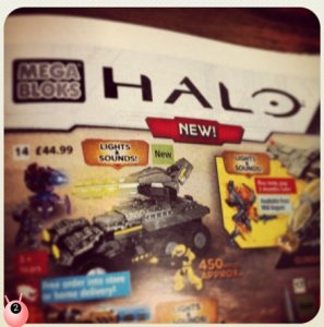Halo Mega Bloks - am I totally missing the point, is it an oxymoron, aren't the 2 complete opposites in age for who they are aimed at