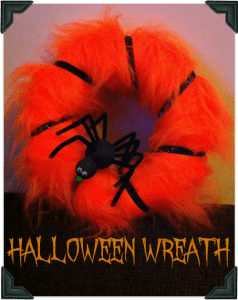 Halloween Wreath, Spider Creations @pinkoddy round up