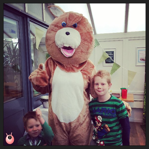 Breakfast with the Easter Bunny at Blooms Garden Centre