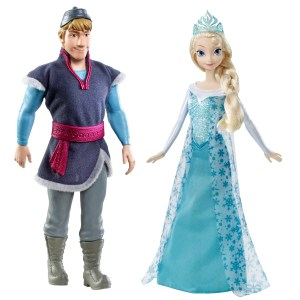- I love that this comes with Olaf.
