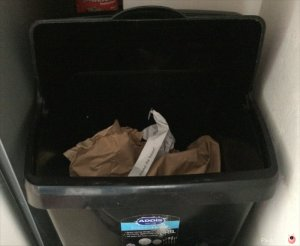 decluttering paper recycling