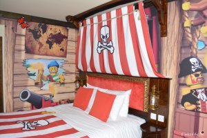 Pirate room LEGOLAND Windsor Hotel