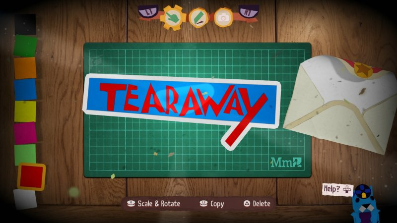 Tearaway Unfolded for PS4 developed by Media Molecule