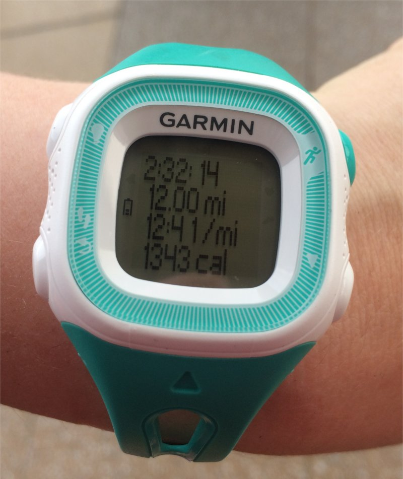 Half Marathon Training - 12 Miles Week