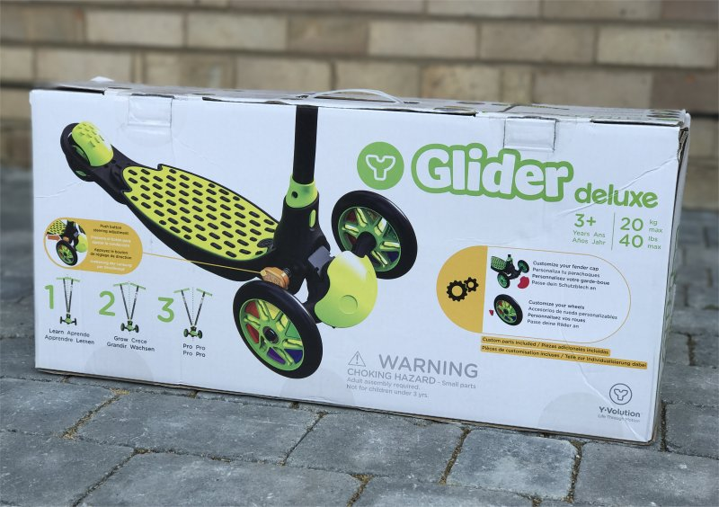 Y Glider Refresh Deluxe from Yvolution