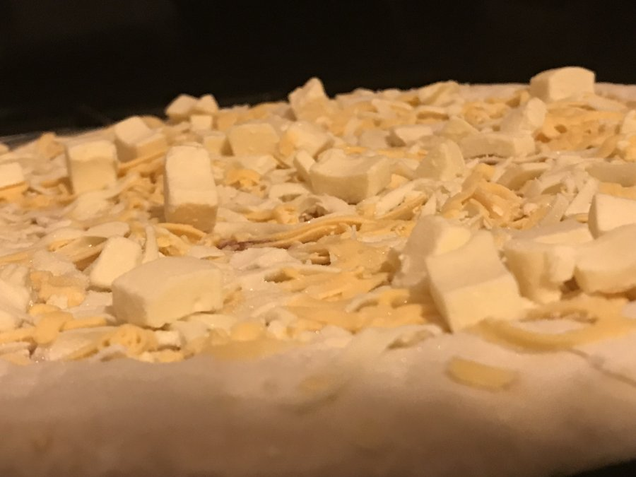 The Pizza Kitchen cheese medley uncooked