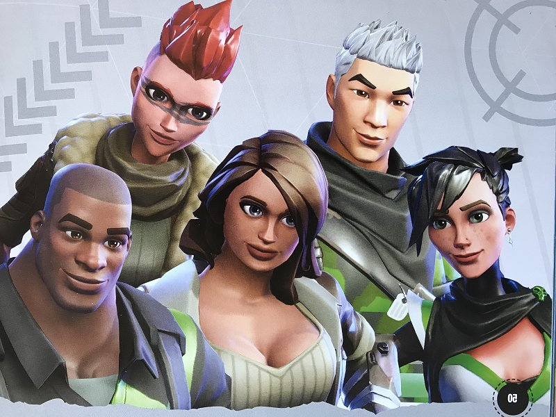 Save the World Characters