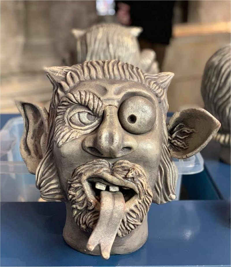create your own gargoyle in the Tribune Gallery at Gloucester Cathedral