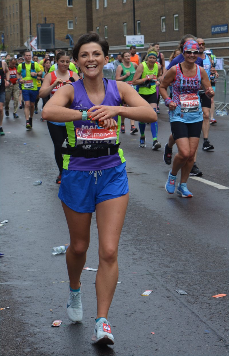 spectating london marathon as a runner