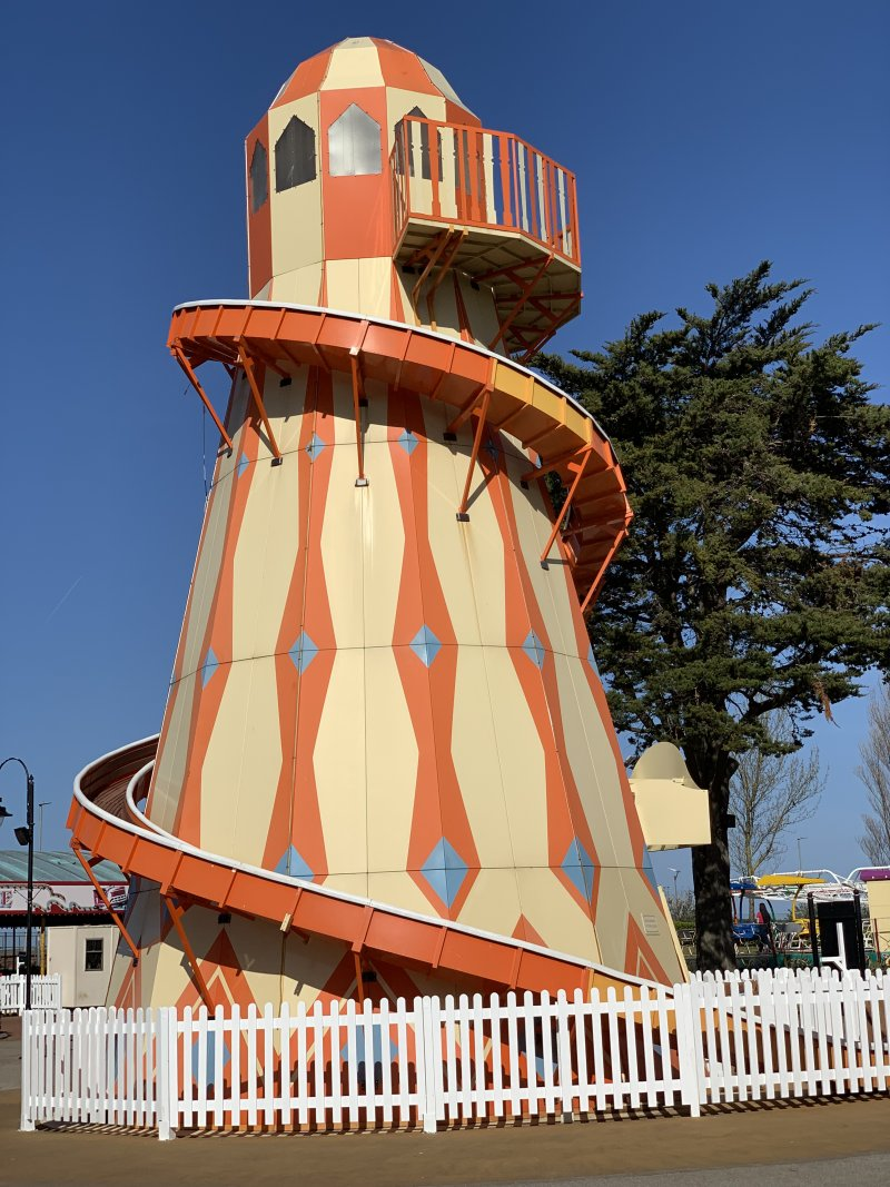 Helter Skelter Butlins Minehead included in the price of a £9.50 sun holiday