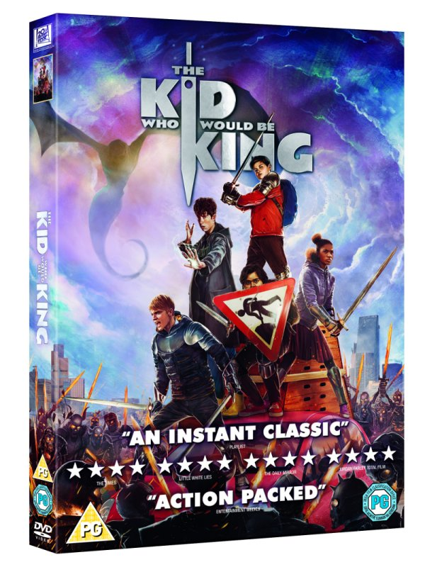The Kid Who Would be King DVD sleeve