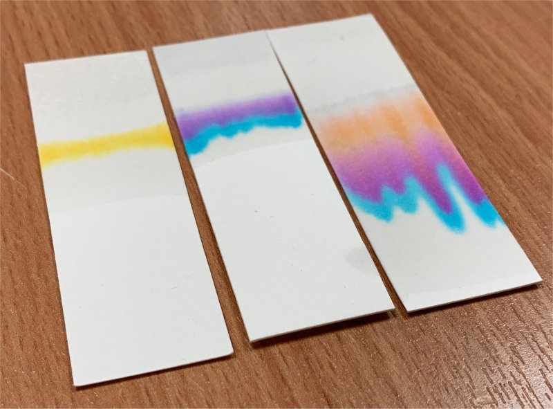 colours separating letterbox lab investigation with uopen