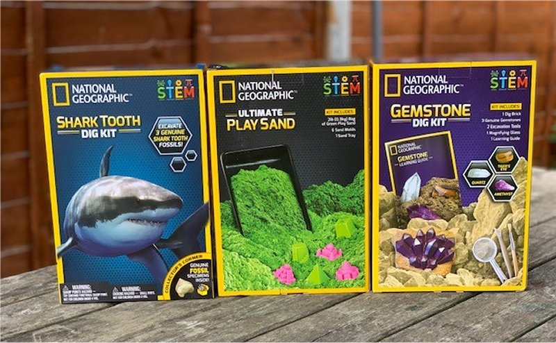 National Geographic STEM Kits from Bandai