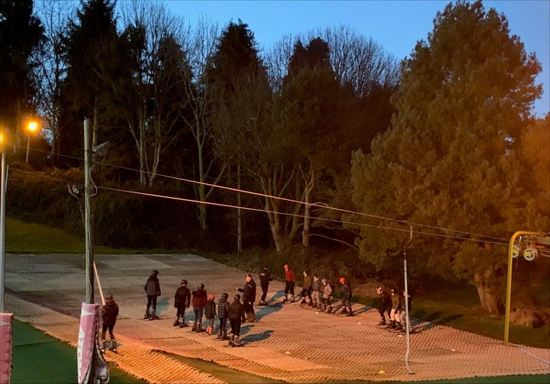 Beginners Skiing and the Accident