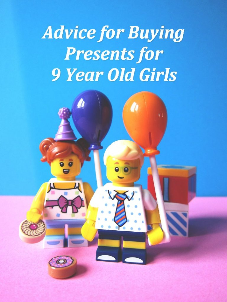 Advice Girls Presents for 9 year olds with LEGO figures