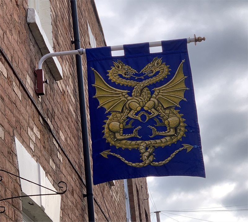 flag seen on trip to the doctors