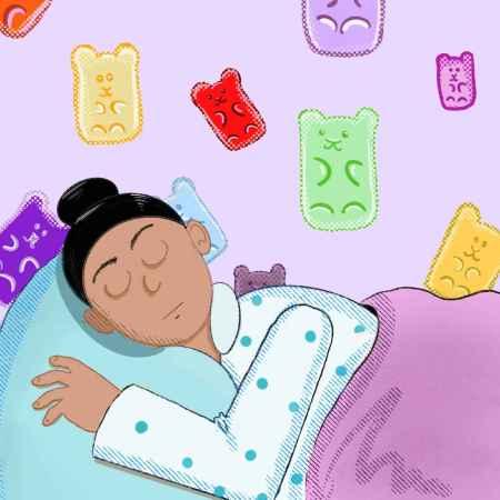 """alt=""""Girl sleeping on a bed"""""""