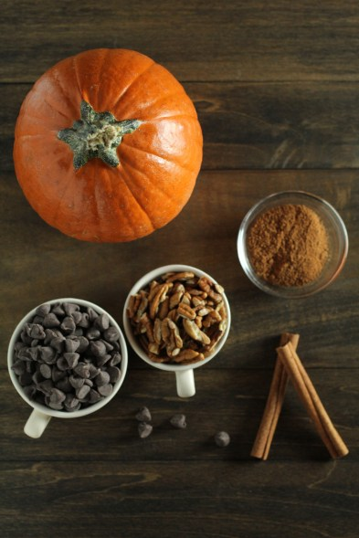 pumpkin spice loaf ingredients