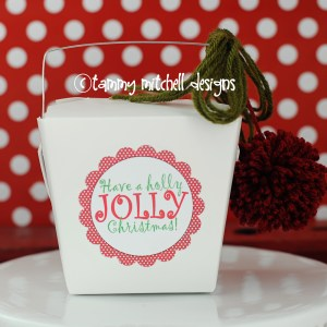 FREEBIE: Free Printable Christmas Tags: Have a Holly Jolly Christmas