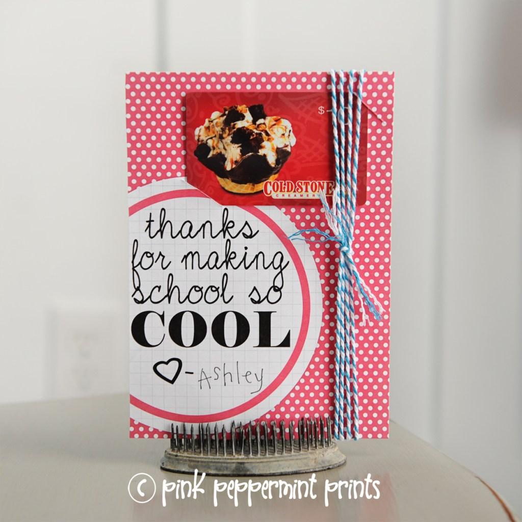 teacher appreciation week ideas  Pink Peppermint Design