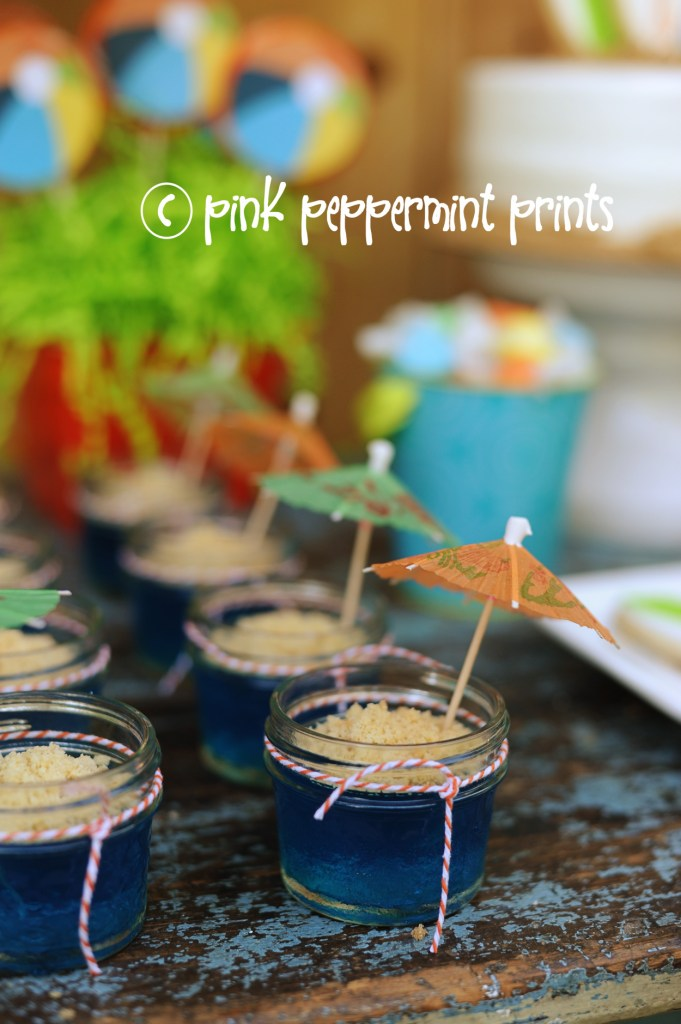 beach party food ideas beach party Pink Peppermint Design