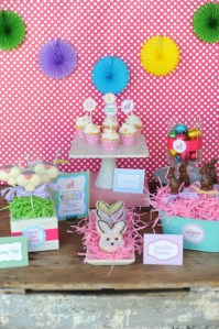 HOLIDAY PARTIES: The Easter Egg Hunt Party and new Easter Printable Party Collection