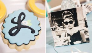 Breakfast at Tiffany's themed Birthday Party