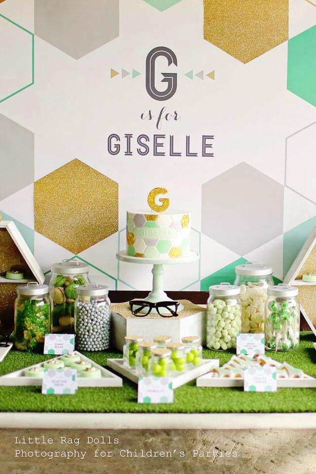 Mint green baby shower ideas 1