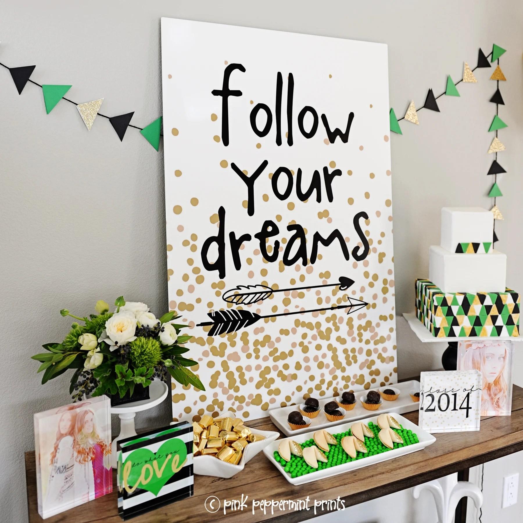 FUN High School Graduation Party Ideas & Decorations