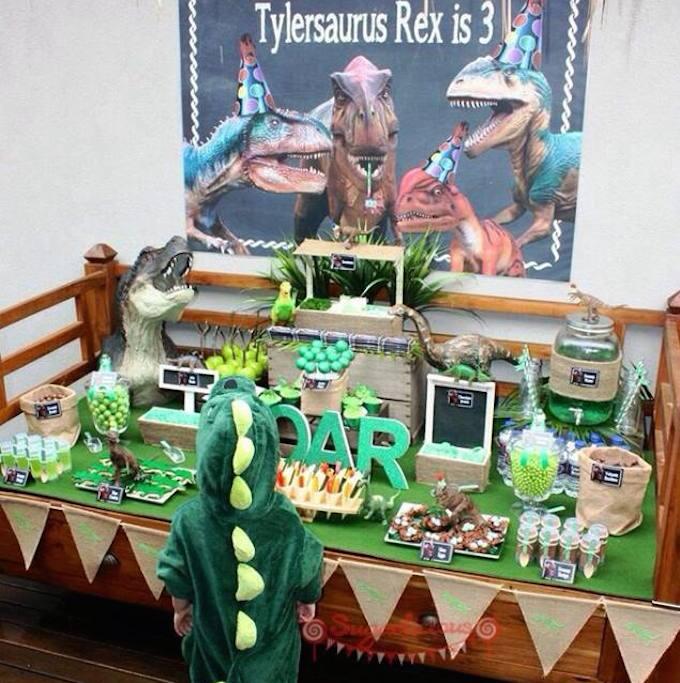 Wild Dinosaur Birthday Party