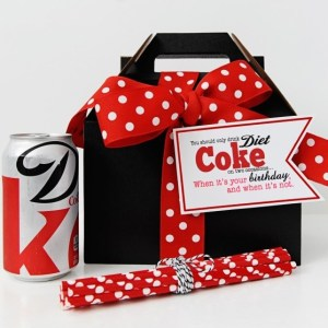 Diet coke birthday package pink peppermint prints tammy mitchell blog header 1024x585