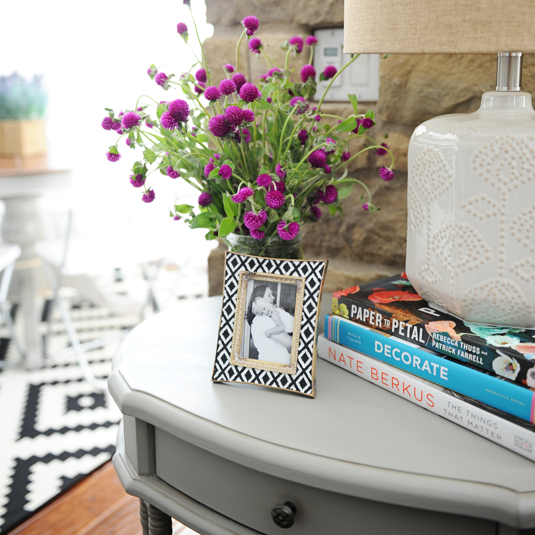 DIY Chalk Paint Table the Before and After