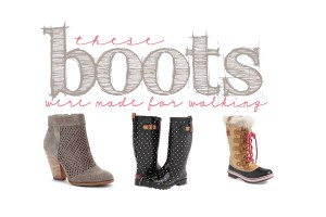 Boots were made for walking copy