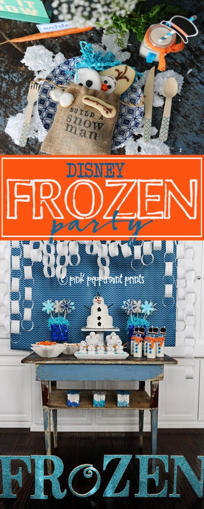 frozen party ideas