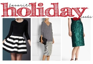 Sunday Style: Holiday Party Must Haves