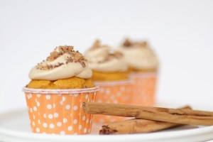 Pumpkin cupcakes feature