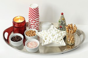 Hot chocolate bar header