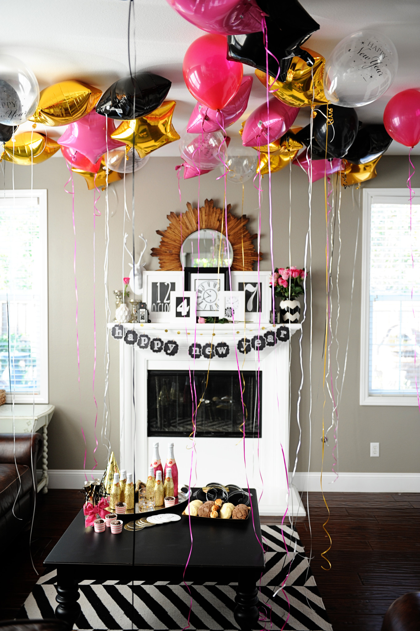 DIY New Year's Eve Party Ideas and Free Printables