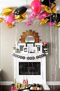 Happy New Year!!  New Year's Party Ideas and Free New Year's Printables