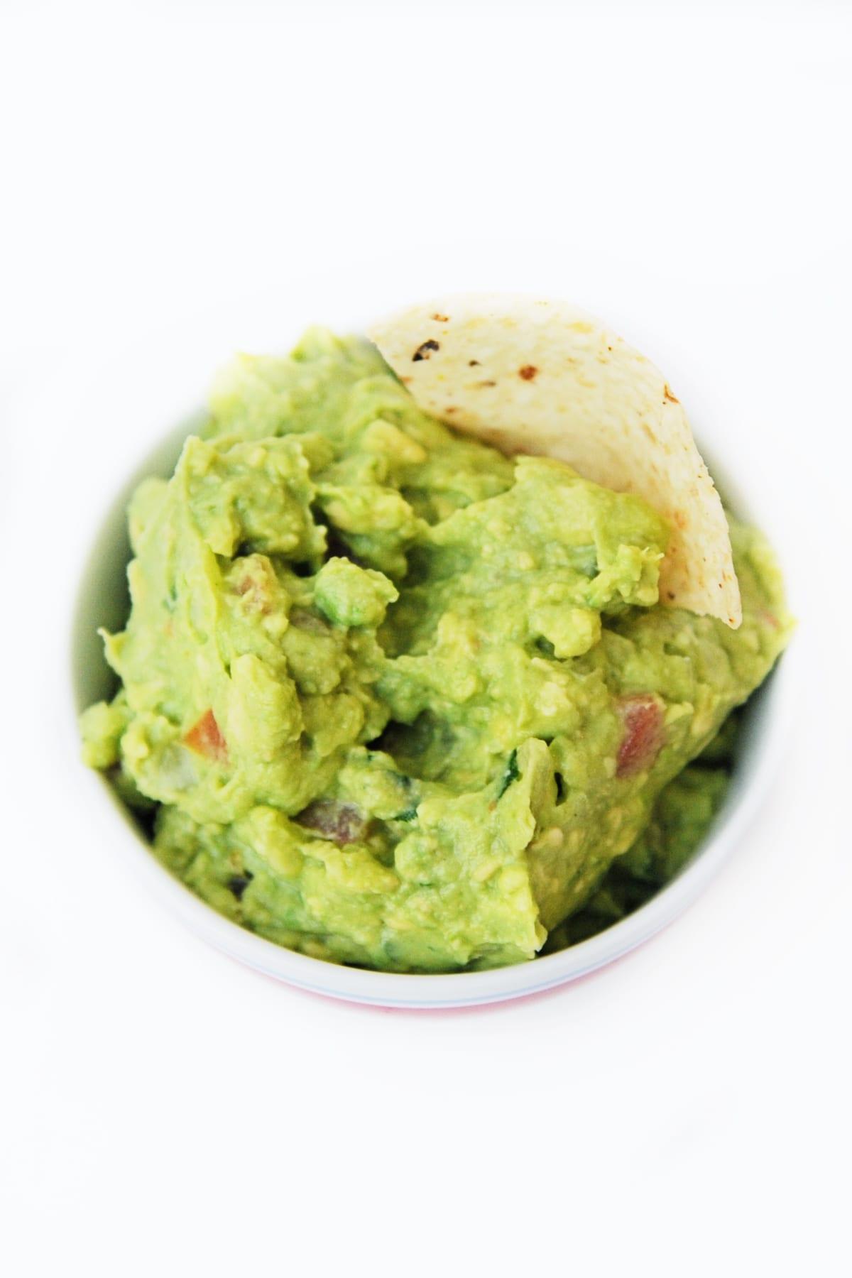Football Party Food: Great Guacamole Recipe