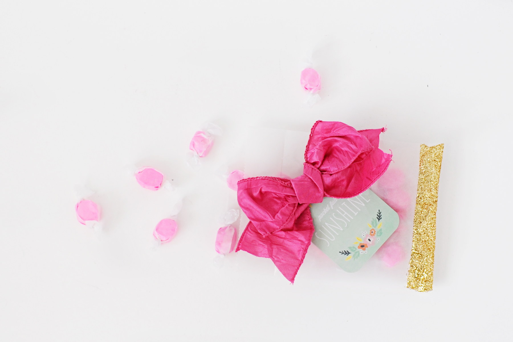 DIY: Glitter Party Bags