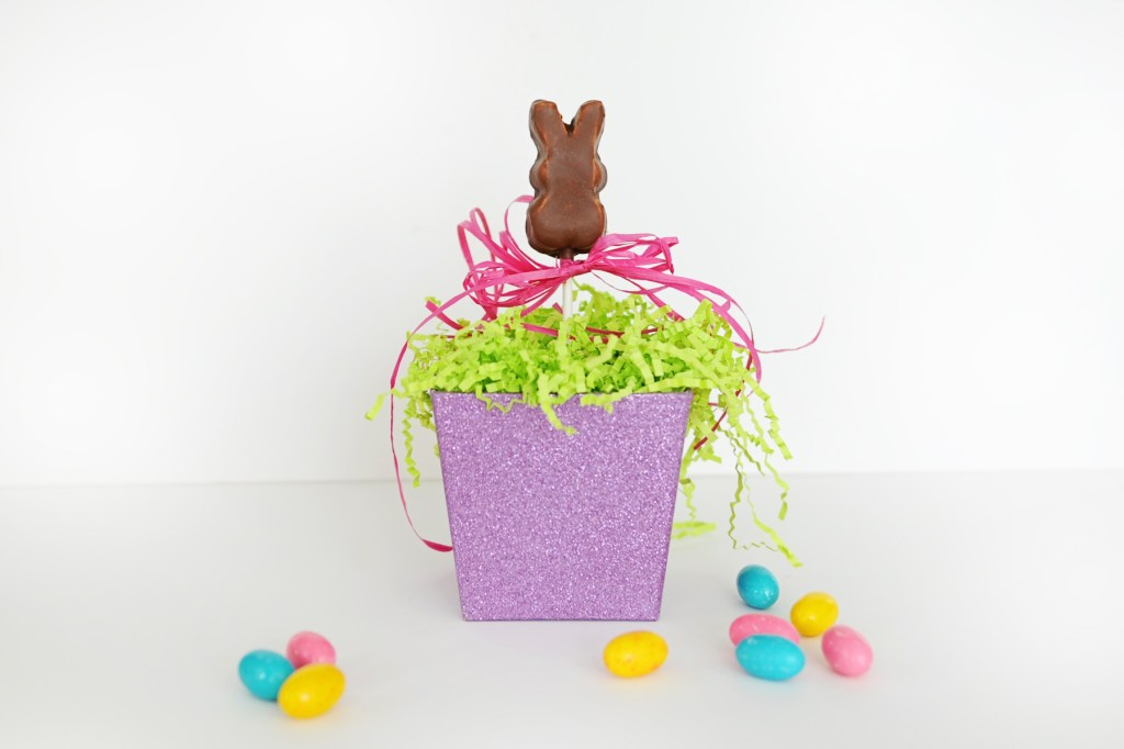 Chocolate Covered Marshmallow Peep | Easter Bunny Themed Treat Idea by Tammy Mitchell
